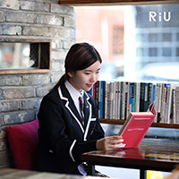 비비스타 화보 모델, 리유 Ri-U, 교복컨셉, 에코의서재, 카페